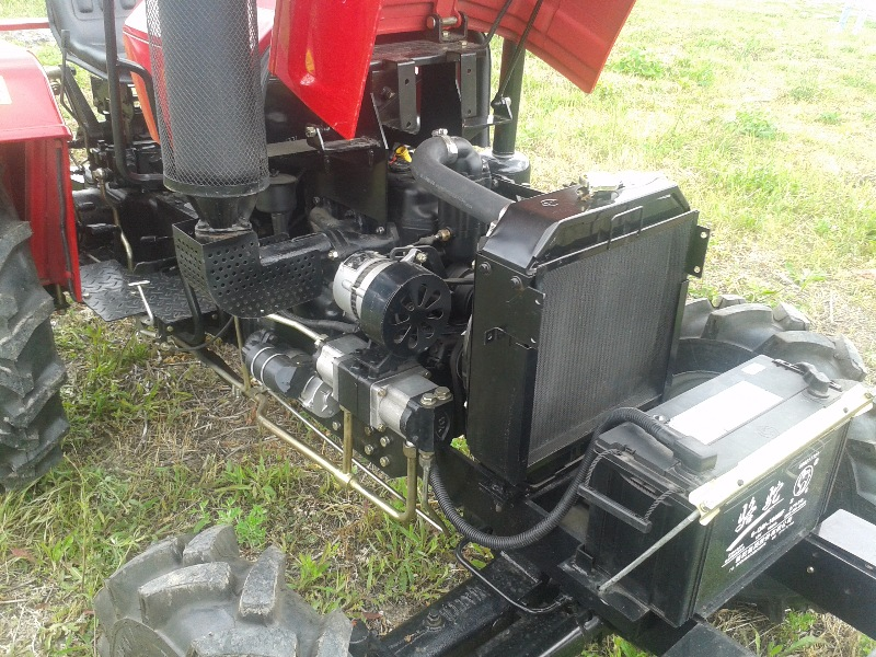 Мини-трактор Шифенг DsF244C 3-х цилиндровый